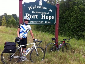 Cycling from Port Hope to Waterloo!