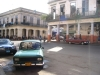 old cars and spanish architecture