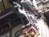 A dragon at Leadenhall Market.