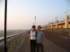Mike and I in Blackpool.
